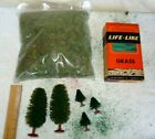 Life Like All Scale Set of 5 Trees &  Grass Lot