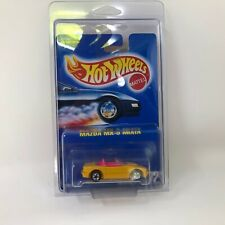 Mazda MX-5 Miata #172 * Tampo * Hot Wheels Blue Card * S26