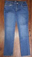 Old Navy Girls Skinny Cotton/Poly/Spandex Adjustable Waist Jeans Sz 14 Plus