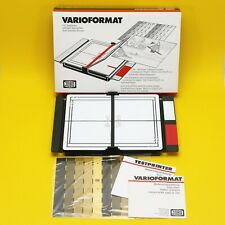 JOBO Varioformat Variable Printing Easel 20x25cm 8x10 w/ Test Strip Printer NOS