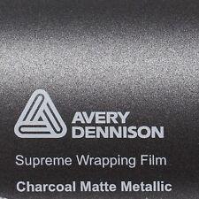 21,70€/m ² Avery Supreme ENVOLTURA FILM Charcoal Estera metálico mate