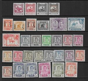 Collection of unmounted mint Iraq stamps.
