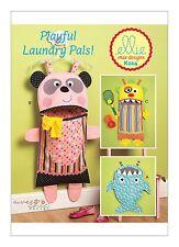 Kwik Sew SEWING PATTERN K224 Novelty Laundry Bags- Shark,Panda,Monster