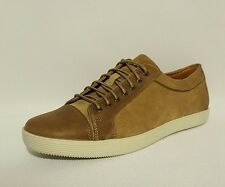 Clarks Favor Speed Brown Beige Leather Trainers Lace Ups Shoes Mens Uk Size 6