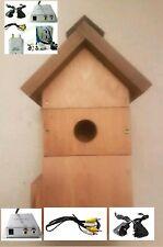 Caja de pájaro allweather/Cámara Inalámbrica-color de sonido de visión nocturna visión interior de TV