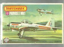 Matchbox Provost.T/Mk1 1/72 scale 1976 Model Kit #PK-30