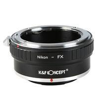 K&F Concept Adapter for Nikon AI F Mount Lens to Fuji Fujifilm FX X-Pro1 X-Pro2