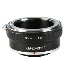 K&F Concept Nikon AI F mount lens to Fuji Fujifilm X-Pro1 FX Adapter Ring Camera
