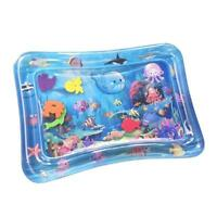 Newborn Baby Inflatable Water Play Mat Cartoon Toddlers Tummy Time Playmat Toys