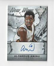 2013-14 Titanium New Wave #19 Al-Farouq Aminu AUTOGRAPH Pelicans
