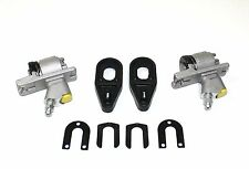 PAIR OF REAR BRAKE CYLINDERS & CLIPS FOR VAUXHALL VIVA HA SALOON 1963 - 1968