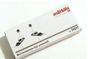Marklin 74471 Turnout Lantern Set with Warm White LEDs