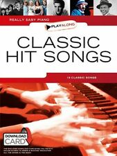 Really Easy Piano Playalong CLASSIC HIT Songs Play ABBA THE HOLLIES Music Book