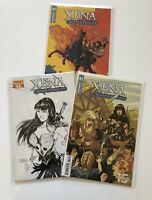 Xena Warrior Princess #1 Variant Comic Lot-3 Comics
