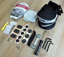 Fahrrad Satteltasche mit Flicken und Werkzeug + Reifenheber, Birnchen, 25 teilig