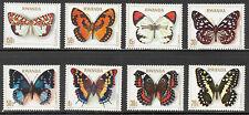 Rwanda**BUTTERFLIES-VLINDERS-PAPILLONS-8 stamps-SCHMETTERLINGE-1979-MNH