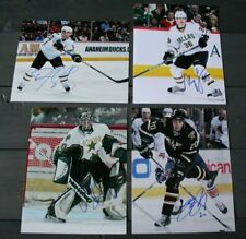Lot of 4 Autographed Dallas Stars 8x10 Photos  Sydor Larson Hirsch Sutherby  COA