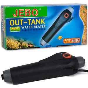 JEBO Aquarium Durchlaufheizer HT-600 Regelheizer Heizstab Heizung Aquarienheizer