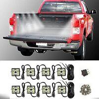 8pcs 48LED Truck Bed Blue Neon LED Lighting Light Kit For Chevy Dodge GMC SUV