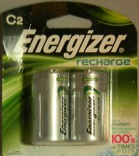 Energizer Rechargeable 2500mAh C Batteries, 2-Pack #NH35BP2 NIP