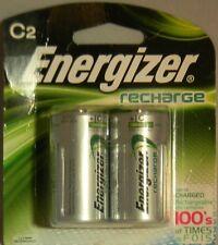 2 x Energizer NH35BP-2 C 2200 mAh Rechargeable Batteries
