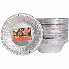 Aluminum Foil Tart / Pie Pans Perfect For Homemade Cakes & Pies - 5.5 Inch Pack