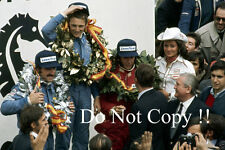 Niki Lauda Ferrari 312 B3 Winner Spanish Grand Prix 1974 Photograph 3