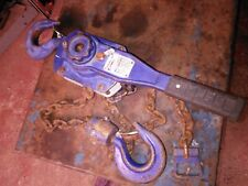 More details for 3. ton lever chain lifts  - cash on collection