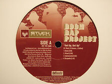 "BOOM BAP PROJECT - GET UP / ODDS ON FAVORITE / NET WORTH (12"") 2002  L'RONEOUS!!"