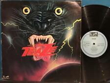 TEAZE~TEAZE S/T ORIG 1977 PRIVATE LABEL METAL~FRANCE LP w/ALT COVER~NWOBHM~HALEN