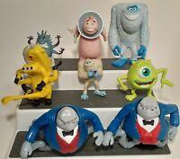 Disney Character Figure LOT Of 8 Disney Pixar Monster's Inc.