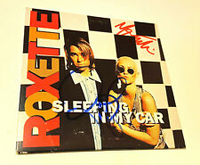 ROXETTE - SLEEPING IN MY CAR : In hand signed by Marie and Per