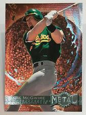 1996 Metal Universe - Mark McGwire - #101 - Oakland Athletics - NrMt