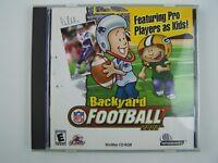 Backyard Football 2002 CD-Rom Windows PC Game