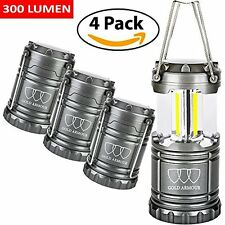 LANTERN LAMPS 4 PACK LAMP FOR OUTDOOR LIGHT TENT LAMPARAS LED DE CAMPING LAMPA