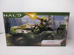 World of Halo Infinite Warthog Vehicle with Master Chief Figure NEW