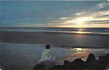 BR25041 Zonsondergang Coucher de Soleil Landscape Belgium