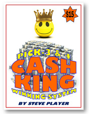 WINNING WEST VIRGINIA CASH KING LOTTERY SYSTEM - PICK-3 & PICK-4 Steve Player