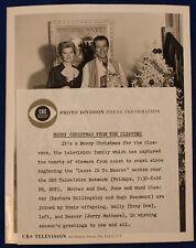 1957 Original Leave It To Beaver CBS TV Promo Vintage Movie Still Photo Type 1