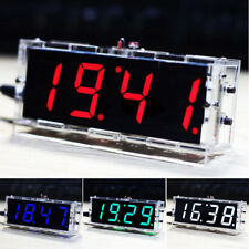 DIY LCD Numérique del électronique Microcontrôleur horloge grand écran temps