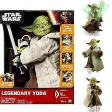 Star Wars Legendary Yoda Jedi Master Lightsaber Interactive Figure Voice Talking