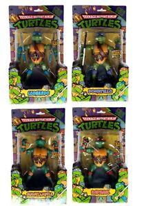 TMNT CLASSIC - TEENAGE MUTANT NINJA TURTLES - FULL SET OF 4 BOXED & COMPLETE