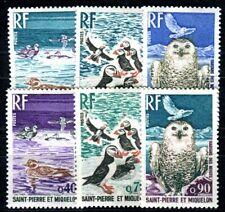 ST PIERRE et MIQUELON 1973 483-488 ** POSTFRISCH TADELLOS (F4057