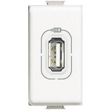 BTICINO MATIX AM5285C CARICATORE USB TENSIONE 5V DC PER CELL SMARTPHONE E TABLET