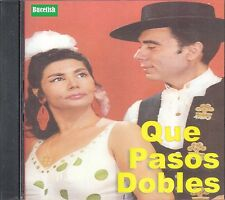 Que Pasos Dobles CD Caja De Carton New