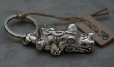"""NWT UNO de 50 Silver 2.5"""" Crocodile """"Aniceto""""  Keychain"""