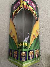 """MIGHTY MORPHIN POWER RANGERS 8"""" TRINI YELLOW RANGER 1993 W Triangular Box Bandai"""