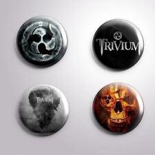 4 TRIVIUM - Pinbacks Badge Button Pin 25mm 1''
