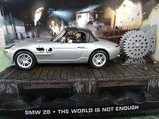 1/43 BMW Z8 James Bond The World is not enough 007 series  diorama