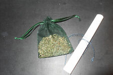 Money Spell done by myself f(or other) and Spell bags (herbal charm bags)